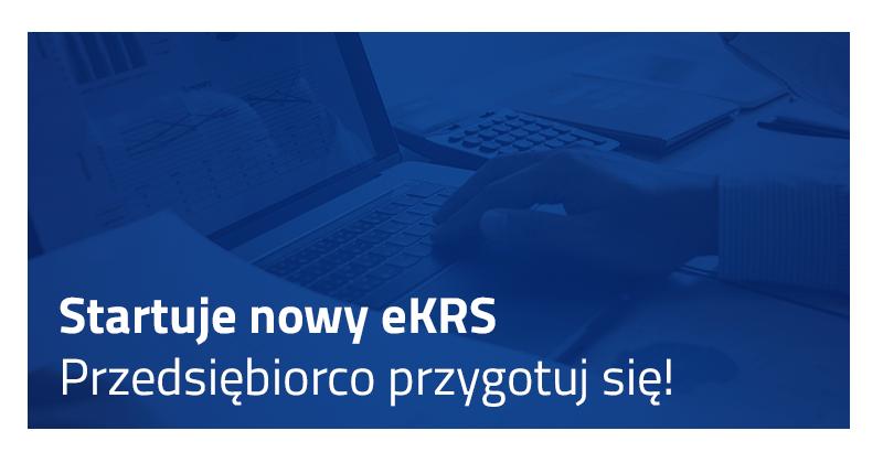 eKRS, system eKRS, nowy eKRS